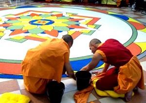 Budhistická mandala