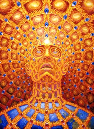 Transfigurations - Alex Grey